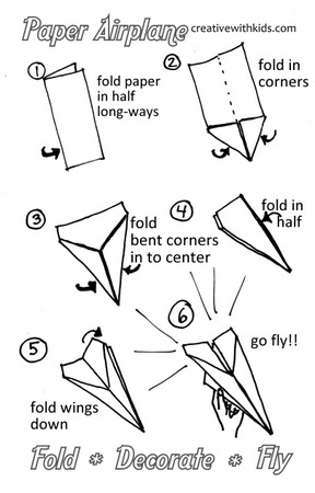 best paper plane instructions