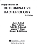 Bergeys manual of determinative bacteriology 9th edition citation