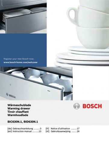 bosch dishwasher sgi53a55au 45 manual