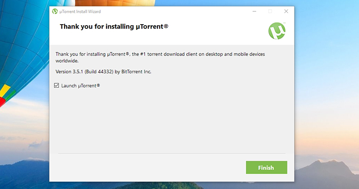 Utorrent setup guide speed test failed