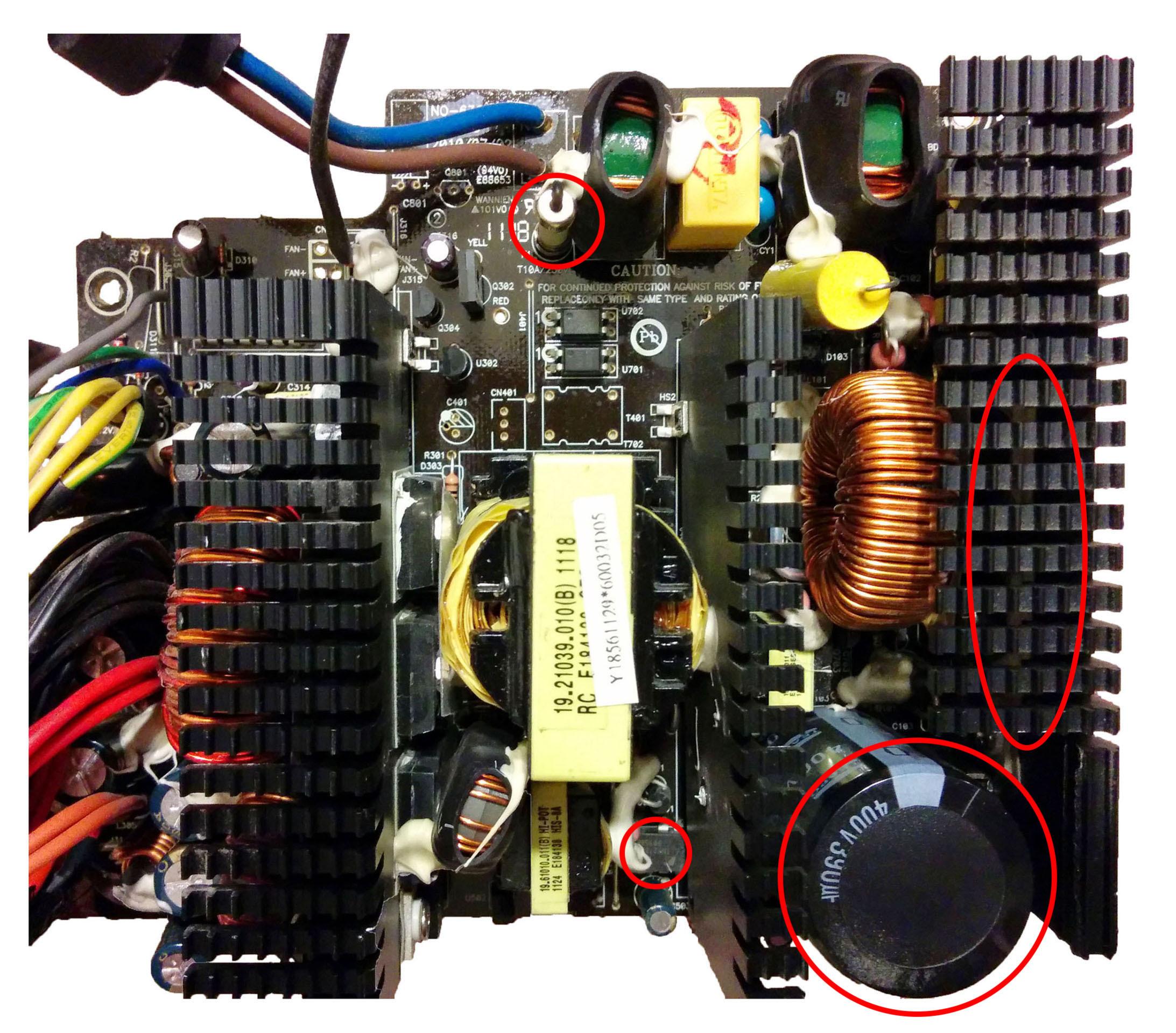 Computer power supply repair manual