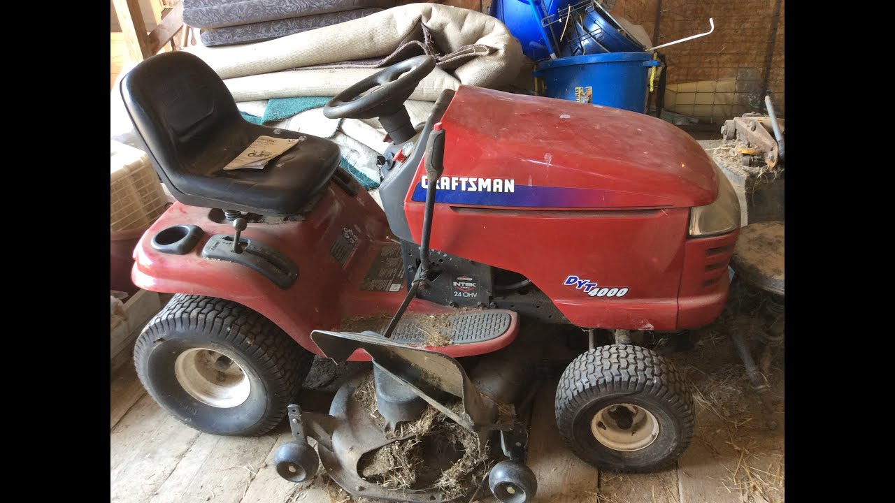 craftsman 17hp mower 6 speed 42 cut manual