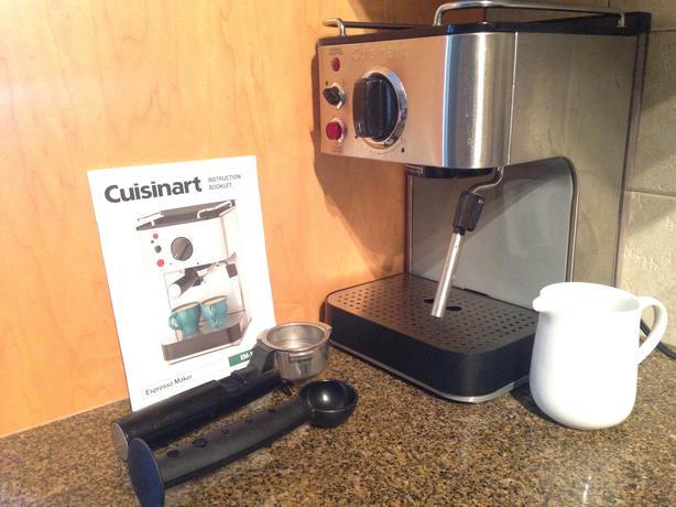 Cuisinart espresso maker em 100c manual