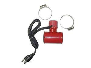 lower radiator hose heater instructions