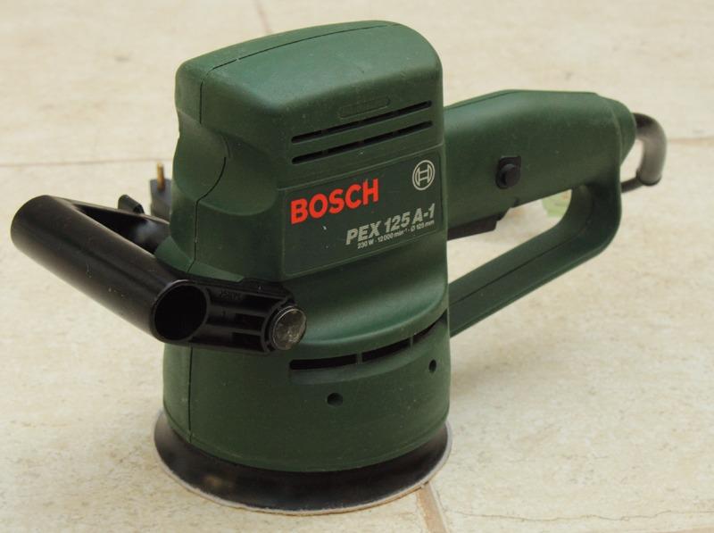 Bosch pex 125 ae manual