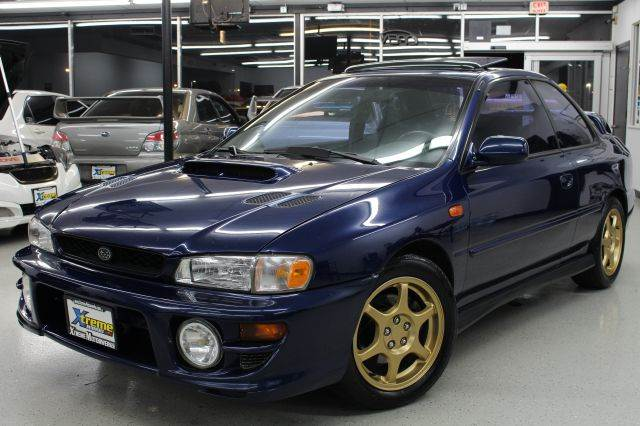 2000 subaru impreza 2.5 rs manual transmission