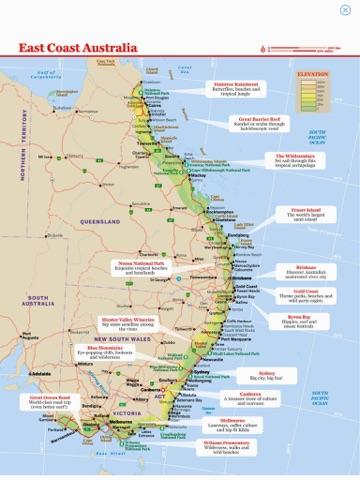 East coast australia guide book