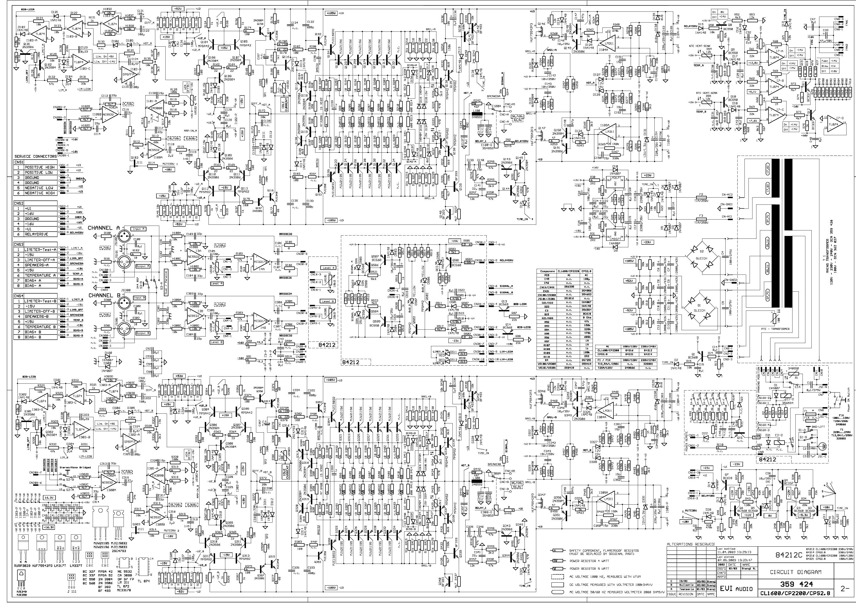 dynacord powermate 600 service manual