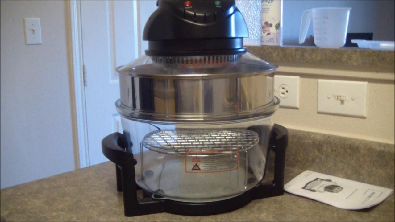 easy cook turbo oven instructions