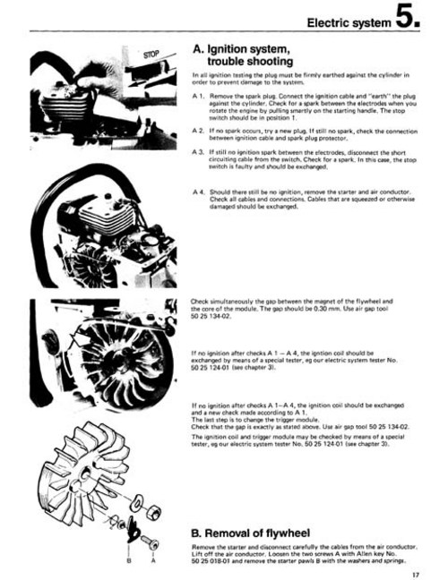 Husqvarna 365 chainsaw parts manual