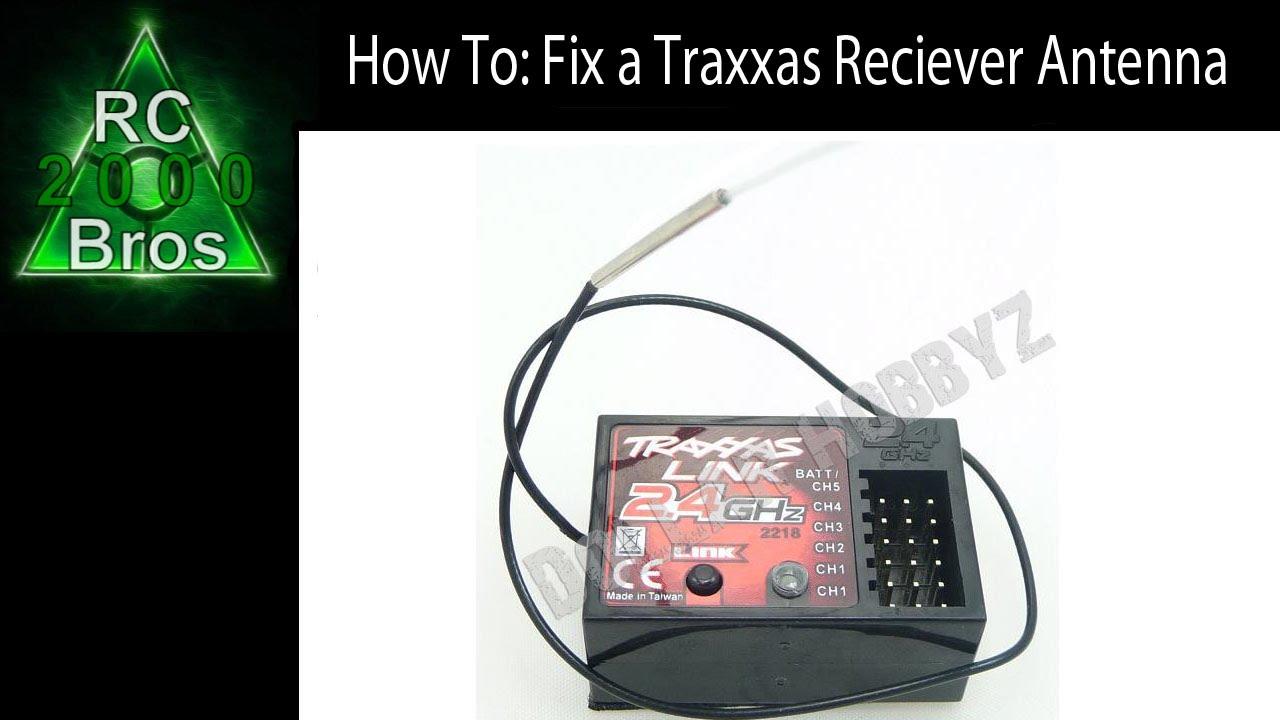 traxxas 2216 micro receiver manual
