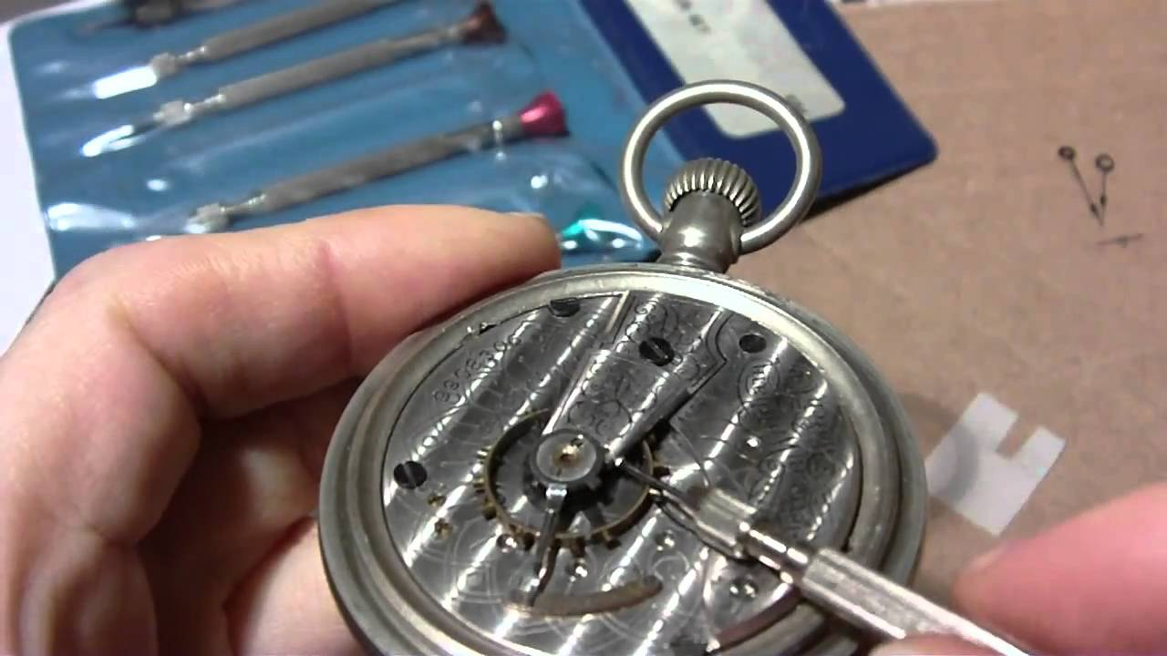 Youtube how to open a pocket watch