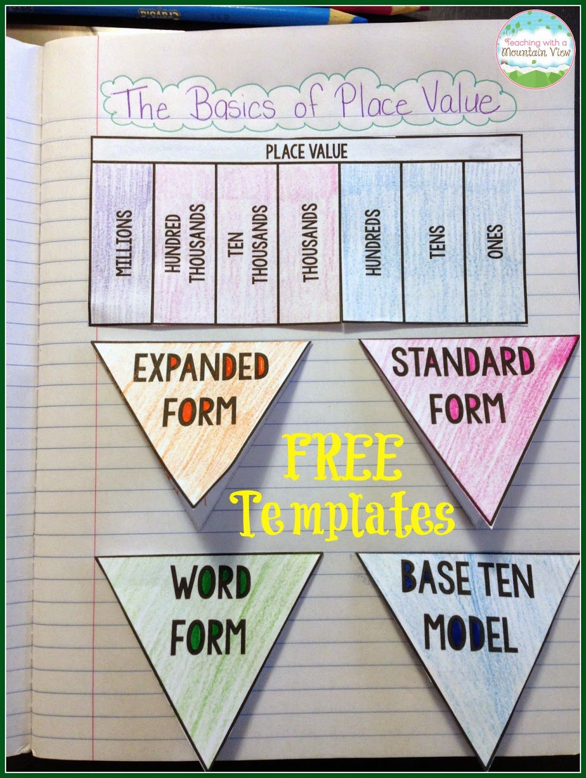 Place value activities 3rd grade pdf