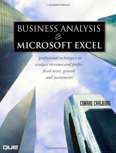 Financial analysis with microsoft excel 8th edition pdf
