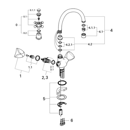 grohe bathroom faucet installation instructions