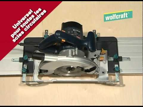 Guide universel pour scie circulaire wolfcraft