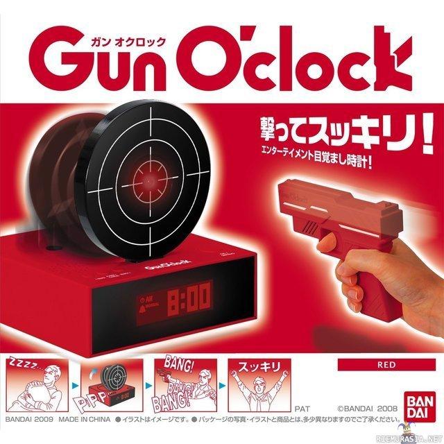 gun o clock instructions
