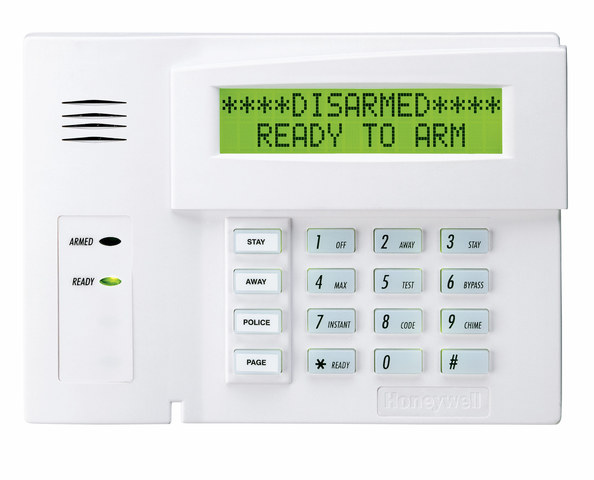 Honeywell security keypad 6160 manual