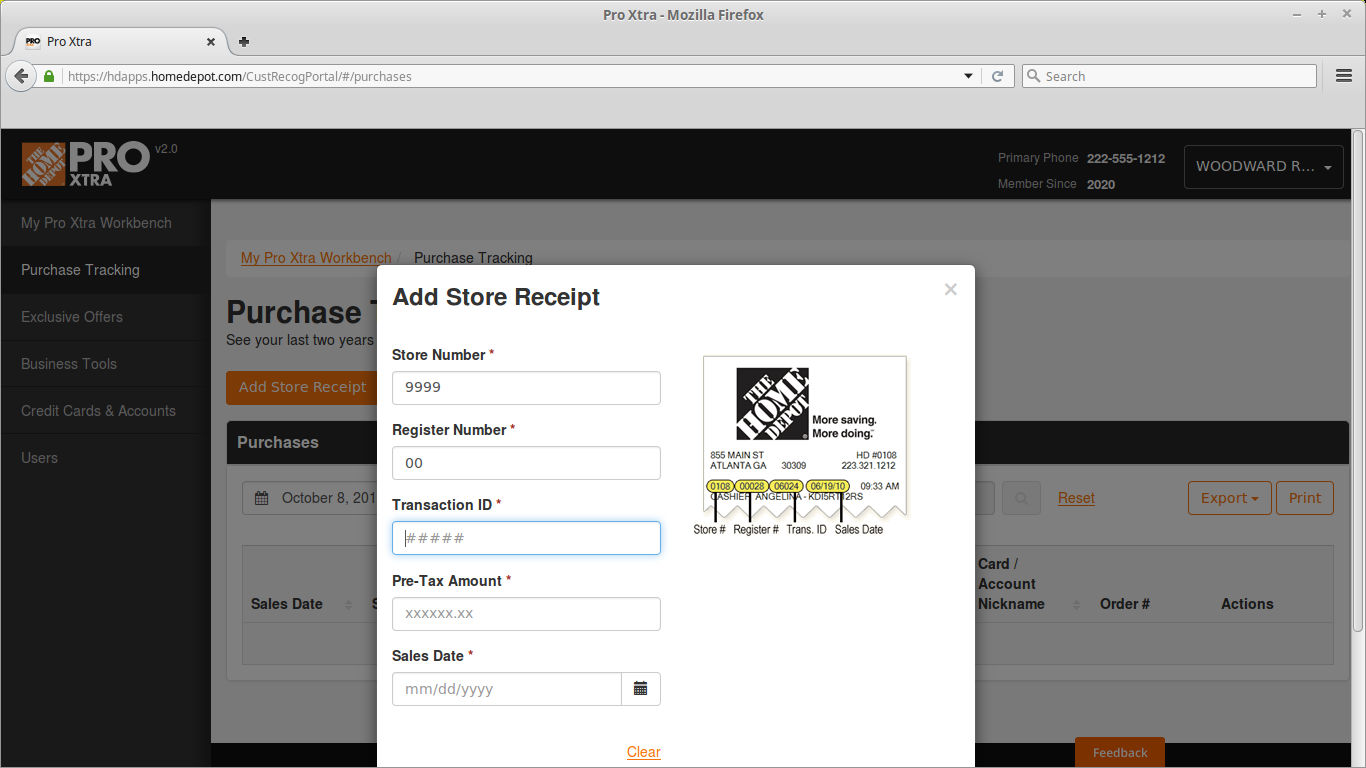 how to print instructions from home depot