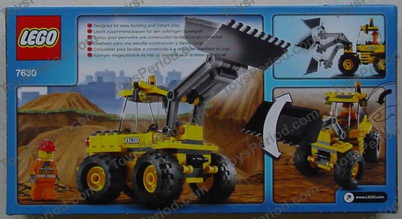lego city front-end loader 7630 instructions