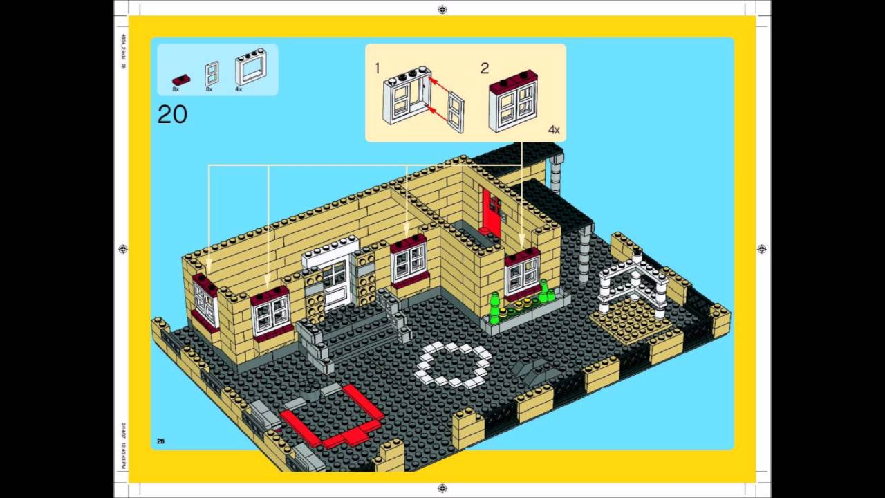Lego creator building instructions