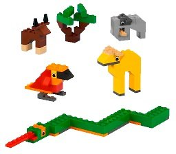 lego farm animal instructions