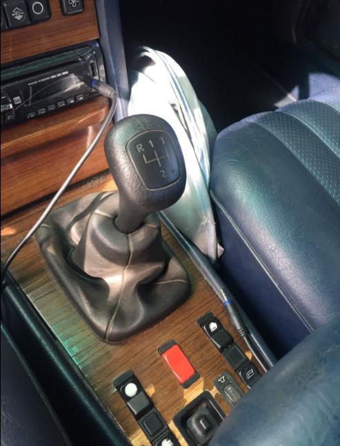 mercedes 190e manual transmission conversion