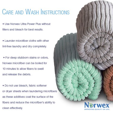 norwex enviro cloth instructions