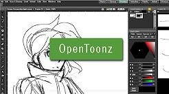 Opentoonz how to add key frames