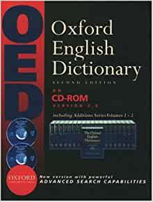 Oxford english dictionary 2nd edition version 4.0 free download