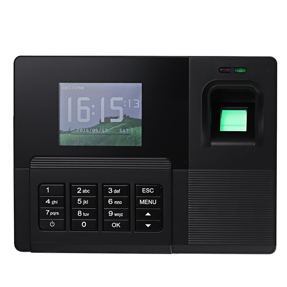 Realand fingerprint time recorder manual