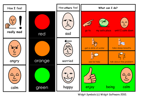 red light green light instruction