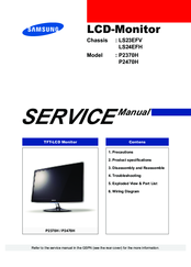 samsung syncmaster t220 service manual