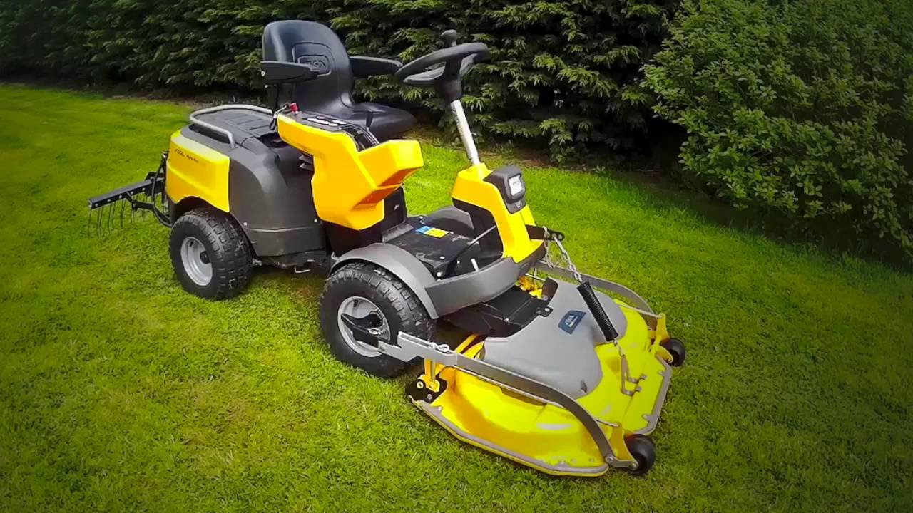 Stiga ride on mower manual