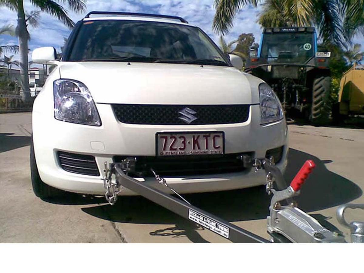 suzuki swift towbar fitting instructions