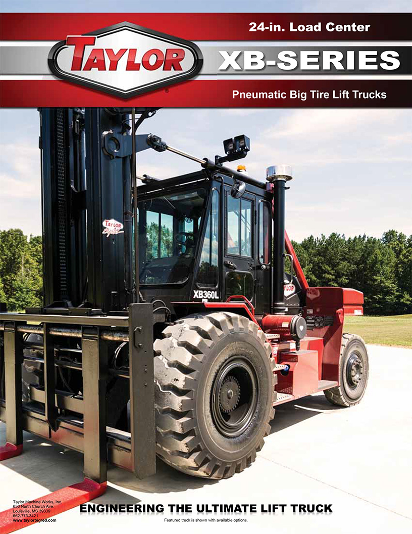 Taylor big red forklift manual