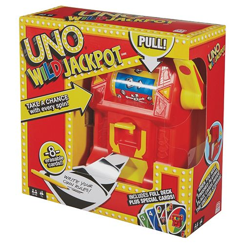 uno wild jackpot instructions