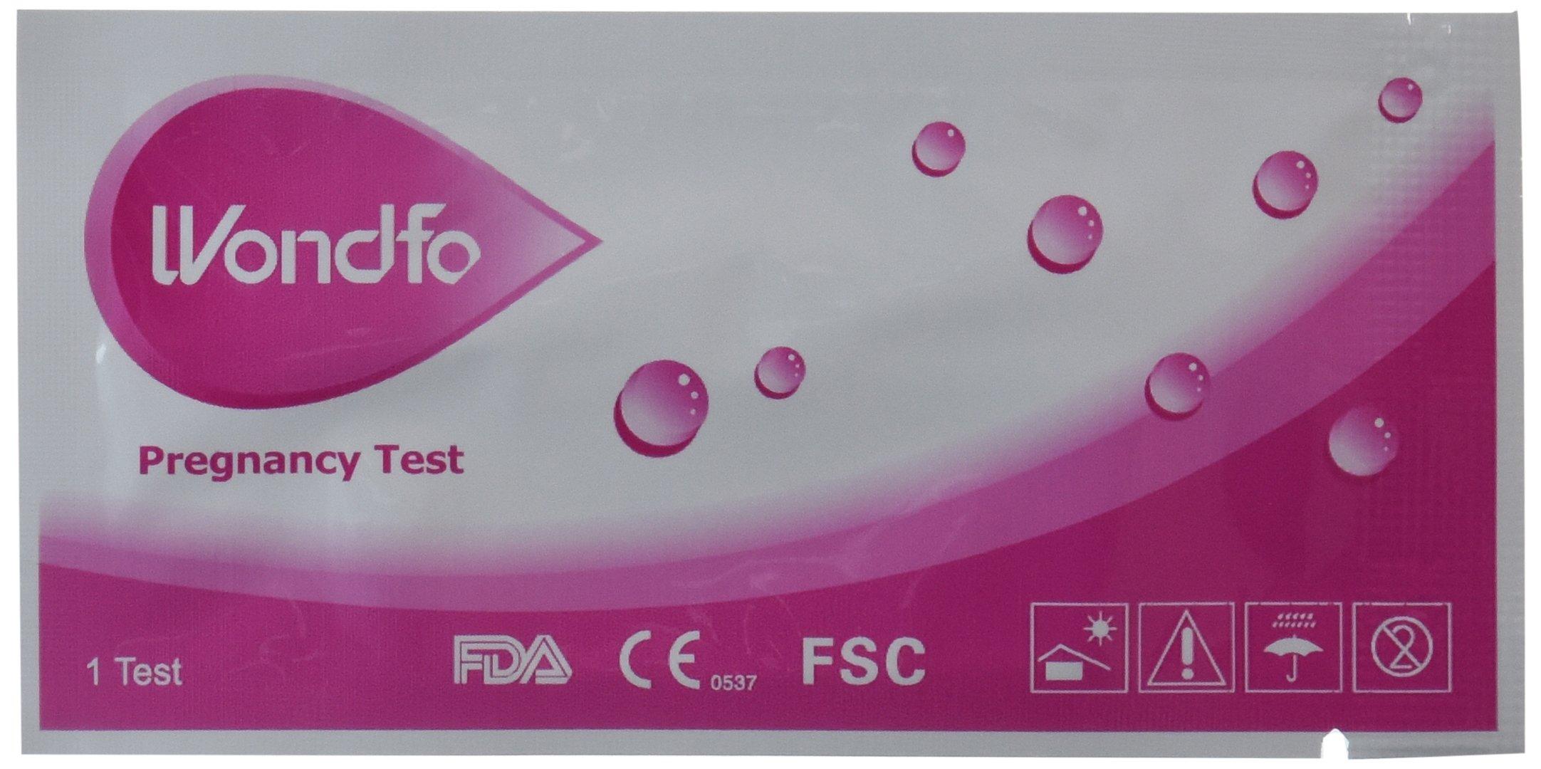 wondfo ovulation strips instructions
