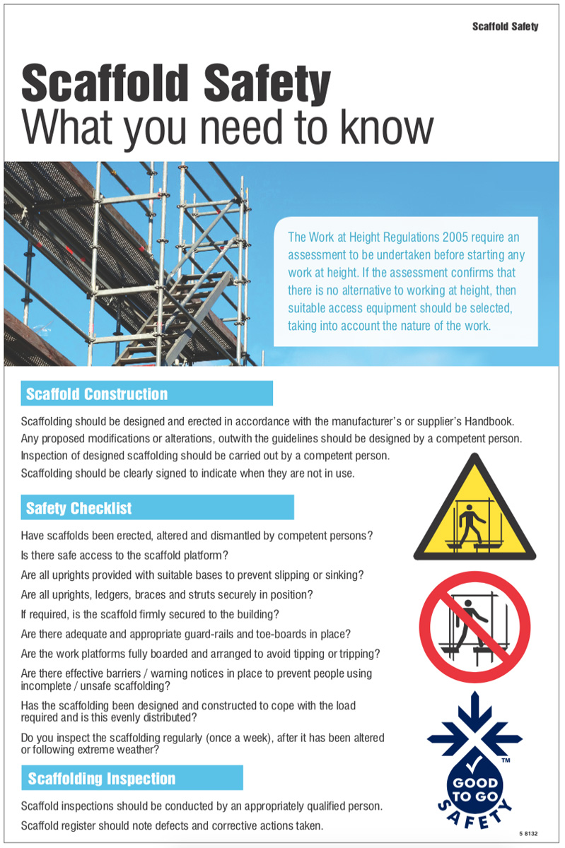 Work at height regulations 2005 pdf